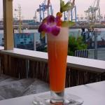 Cocktail-vor-Hafen
